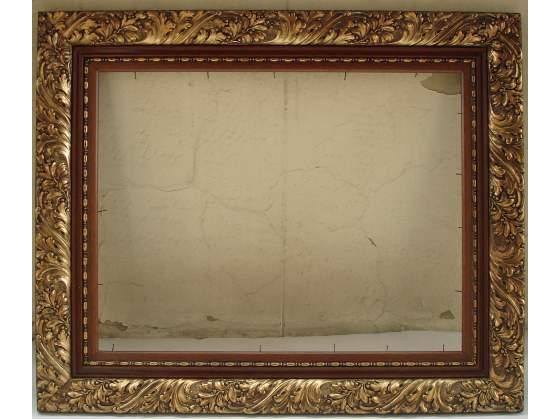 Antica cornice in legno dorato 50x65 cm.