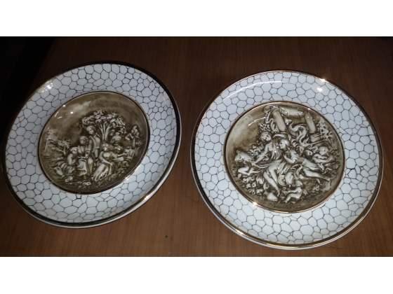 Piatti porcellana capo di monte