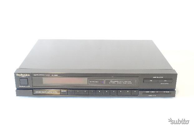 Radio Sintonizzatore Technics ST X830