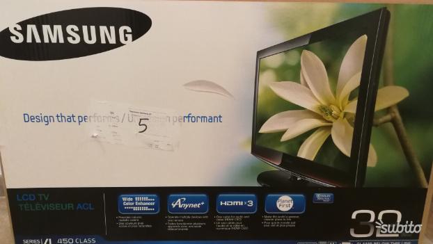 Tv Lcd 32 pollici Samsung (no Smart TV)