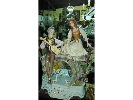 Capodimonte gigante in ceramica anni 50