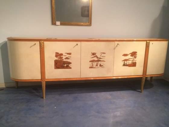 Credenza Danese Anni 50 : Sideboard credenza madia design danese anni 50 posot class