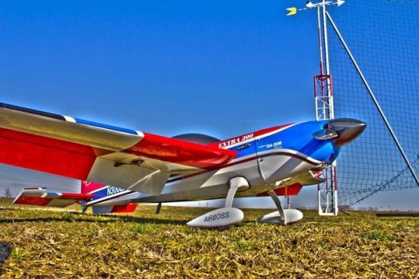 Extra 300 extreme flight