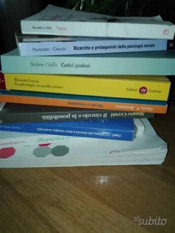 Libri usati universita' psicologia