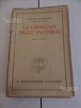 Libro antico LA CAVALCATA DELLE VALCHIRIE