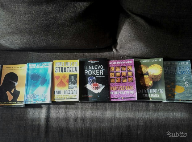 Poker texas hold'em libri professionali