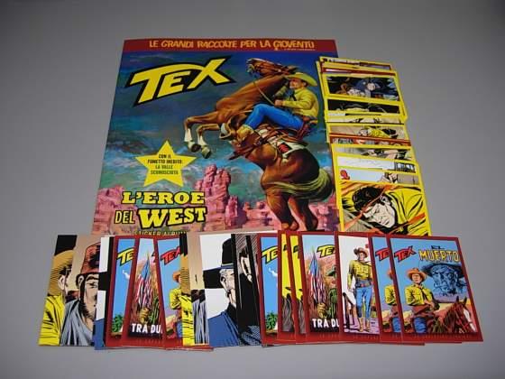 Album Tex e varie figurine