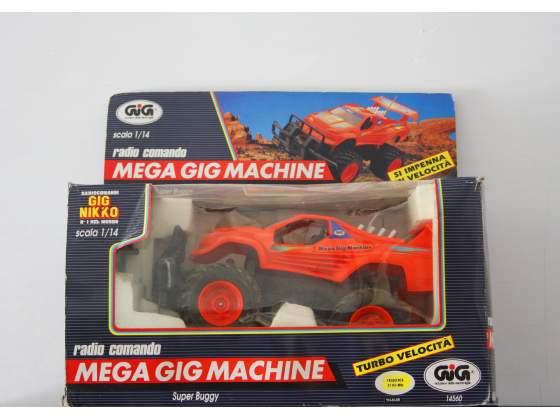 GIG NIKKO Mega GIG Machine Vintage Auto Radiocomandata Anni