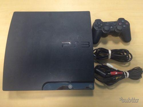 PS3 Playstation 3 slim 120gb con 12 giochi