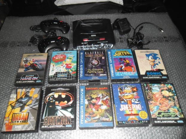 Sega megadrive - mega drive tanti giochi boxati