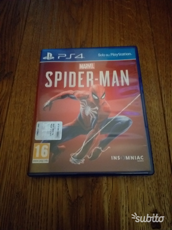 Spider man Marvel PS4
