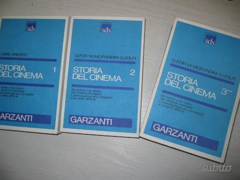 Storia del cinema.edito garzanti