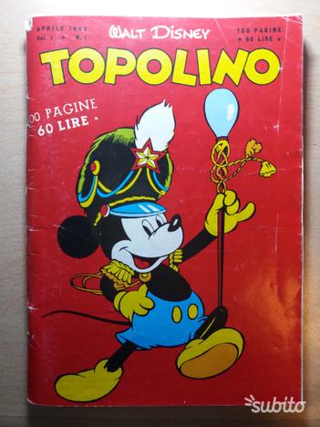Topolino n°1 - Aprile
