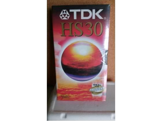 25 TDK Videocassette VHS HS 30 minuti nuove