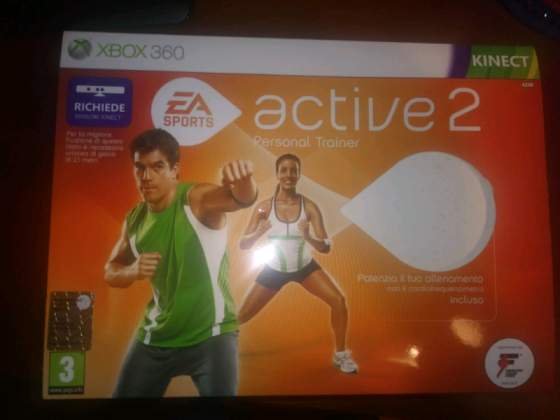 Gioco Active 2 Personal Trainer Xbox 360 Kinect
