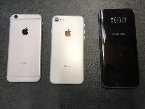 IPhone 7 32gb IPhone 6s 16gb Samsung S8 Plus 64gb
