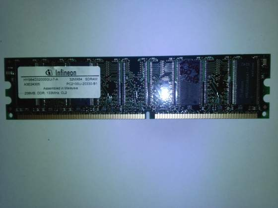 RAM 256MB DDR 133mhz CL2