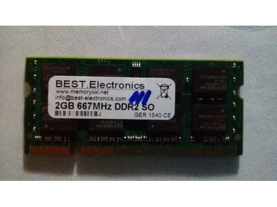 RAM da 2 GB DDR2 per computer fisso
