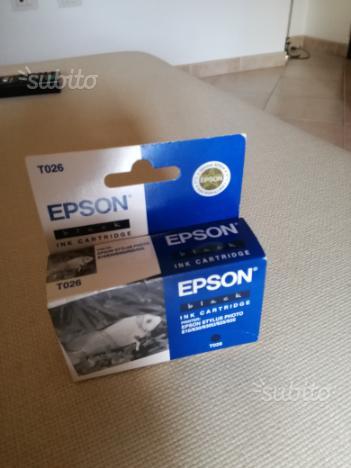 3 Cartucce stampante epson stylus nero
