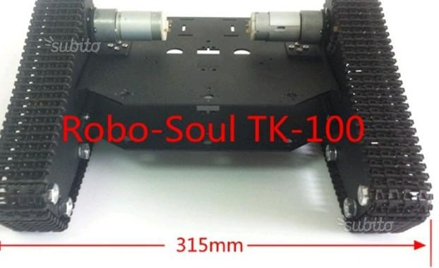 Arduino chassis robot no elettronica