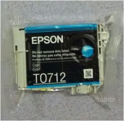 Cartuccia originale stampante Epson T (blu)