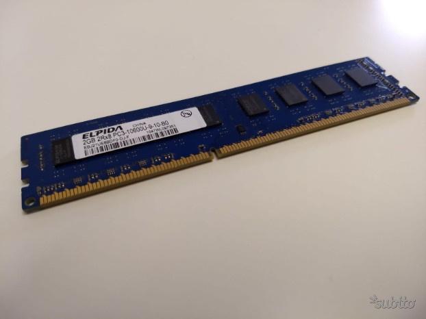 Memoria RAM ELPIDA bulk 2GB DIMM