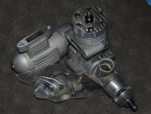 Motore a scoppio per aeromodelli ASP 25A - ABC