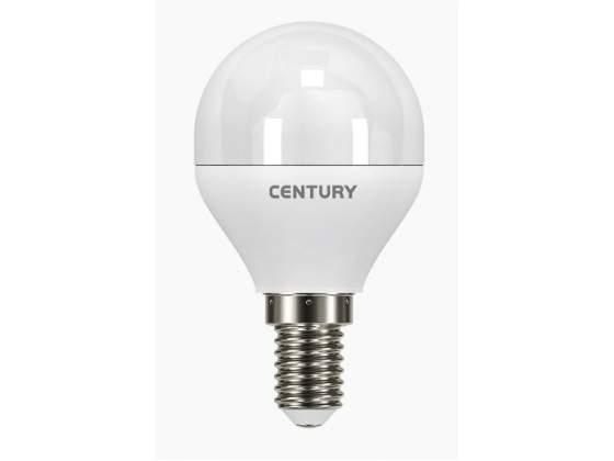 Lampada classica a led luce fredda e14 ecolight a sfera
