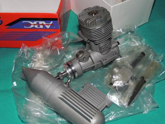 Motore a scoppio per aeromodelli SC 46 - ABC