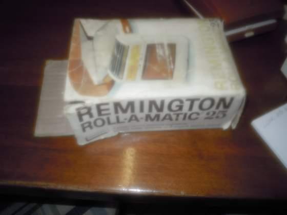 Rasoio elettrico remington