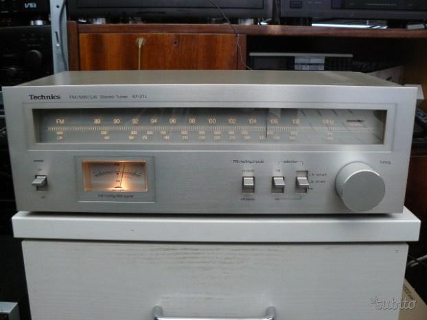 Sintonizzatore technics st-z1 radio tuner vintage