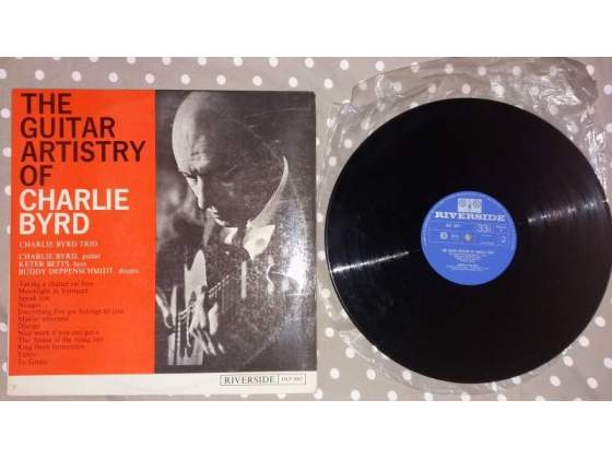 The guitar artistry of charlie byrd riverside olp  lp 33