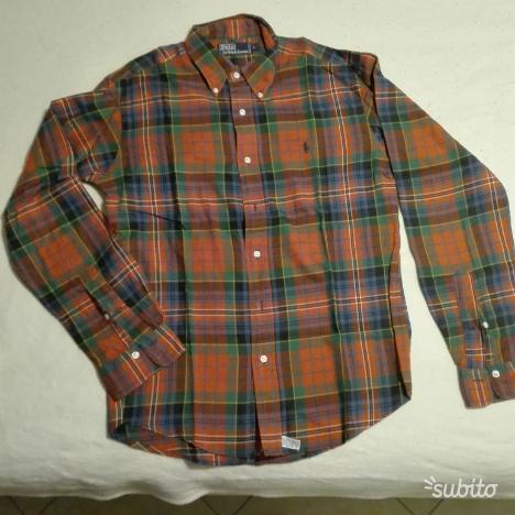 Camicia Ralph Lauren plaid (rosso/verde/blu)