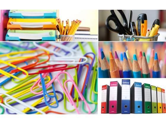 Cancelleria, articoli regalo, arredi, attrezzature