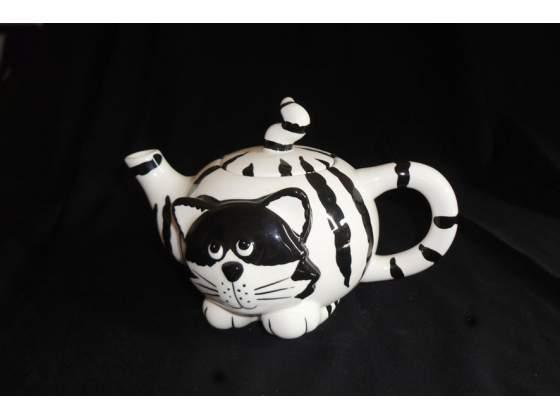 Teiera a forma di gatto