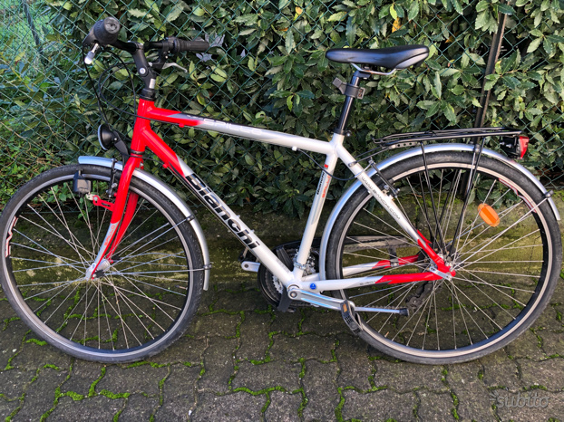 Bici Bianchi Spillo Rubino 28