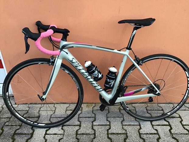Bici corsa specialized amira Comp Carbon donna