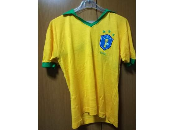 Maglia calcio vintage Brasile '80