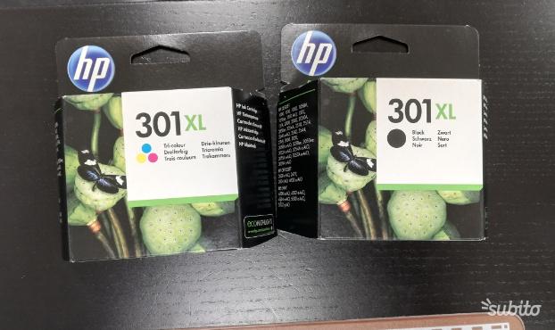 Cartucce HP 301XL originali