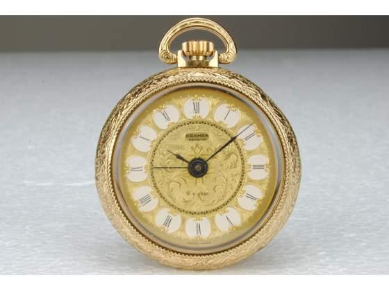Kramer Geneve Orologio Tasca Svegliarino Brevet+ Swiss