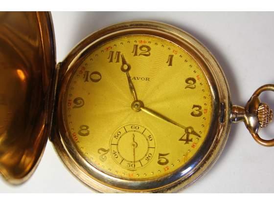 "Splendido orologio da tasca ""FAVOR"" Savonette anni 20"