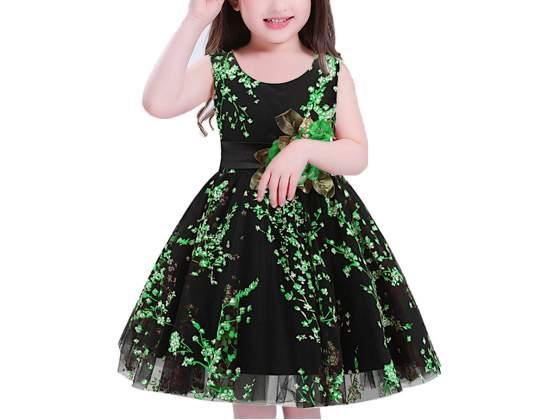 Vestito bambina abito cerimonia fiori dg