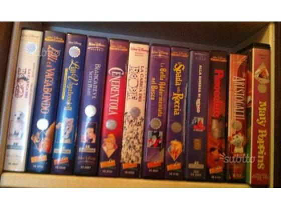 3 VHS originali DISNEY