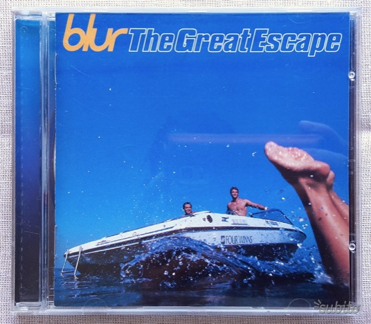 CD originale Blur The Great Escape