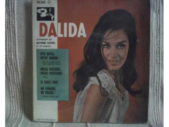 DALIDA' 45 giri rari edizione BARALAY