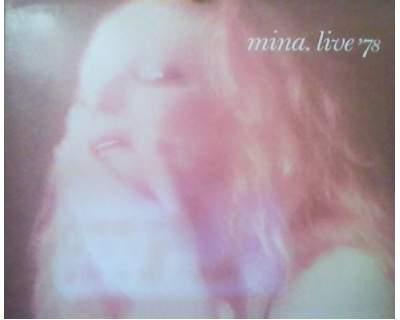 Disco-vinile Mina Live '78 - 2 Lp 33 giri