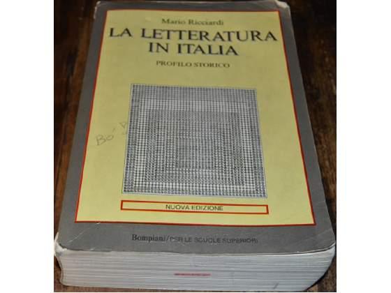 La Letteratura in Italia - Profilo Storico - Mario Ricciardi