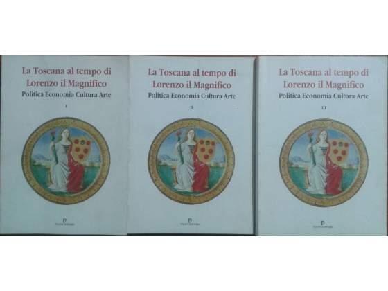 La Toscana al tempo di Lorenzo il Magnifico 3 volumi