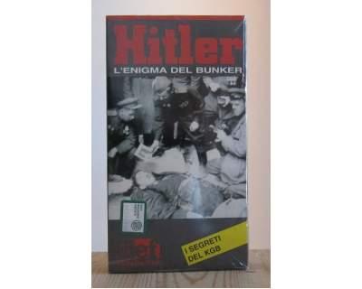 VHS documentario, Hitler, LÂ'enigma del bunker - NUOVO