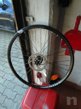 2 ruote anteriori per mountain bike con freno a disco